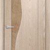 Межкомнатная дверь ПВХ Ниагара белая патина 2