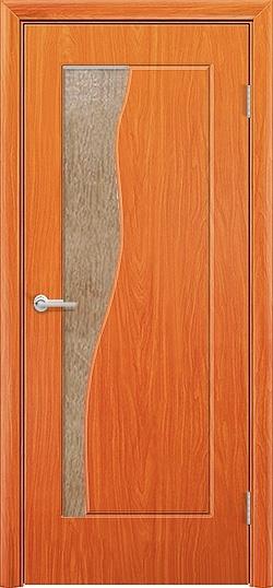 Межкомнатная дверь ПВХ Натали груша 3