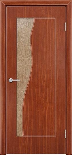 Межкомнатная дверь ПВХ Натали итальянский орех 3
