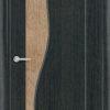 Межкомнатная дверь ПВХ Марсель темный орех 2
