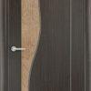 Межкомнатная дверь ПВХ Стиль 4 светлый орех 2