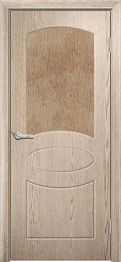 Межкомнатная дверь ПВХ Неаполь ель карпатская 3