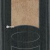 Межкомнатная дверь ПВХ Натали белая патина 1