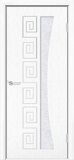 Межкомнатная дверь ПВХ Ниагара белая патина 3