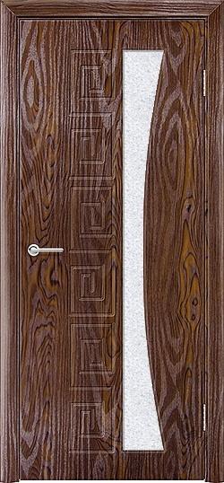 Межкомнатная дверь ПВХ Ниагара дуб шоколадный 3