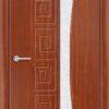 Межкомнатная дверь ПВХ Стиль 4 белая патина 2