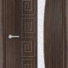 Межкомнатная дверь ПВХ Гладкое венге 2