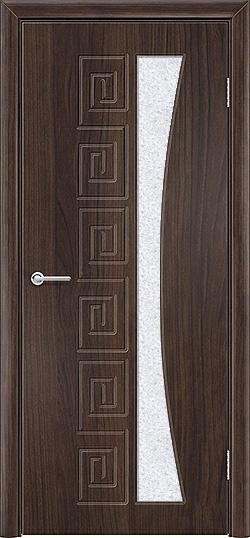 Межкомнатная дверь ПВХ Ниагара темный орех 3