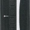 Межкомнатная дверь ПВХ Ниагара венге патина 2