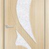 Межкомнатная дверь ПВХ Неаполь белая патина 2