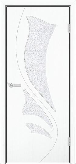 Межкомнатная дверь ПВХ Ника белый 3