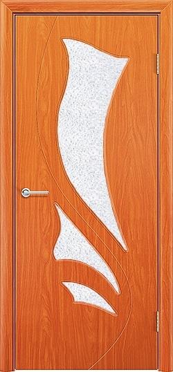 Межкомнатная дверь ПВХ Ника груша 3