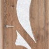 Межкомнатная дверь ПВХ Жасмин светлый орех 2