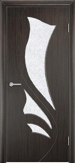Межкомнатная дверь ПВХ Ника венге 2