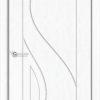 Межкомнатная дверь ПВХ Вектор светлый орех 1