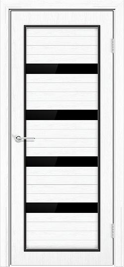 Межкомнатная дверь ПВХ Премиум белая патина 3
