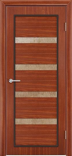 Межкомнатная дверь ПВХ Премиум итальянский орех 3