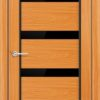 Межкомнатная дверь ПВХ Натали дуб шоколадный 2