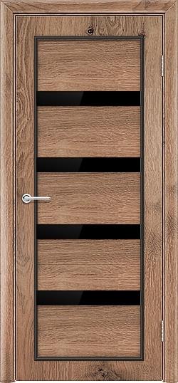 Межкомнатная дверь ПВХ Премиум светлый орех 3