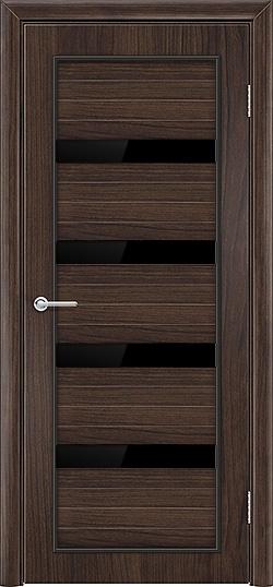 Межкомнатная дверь ПВХ Премиум темный орех 3