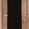 Межкомнатная дверь ПВХ Кристина дуб шоколадный 1