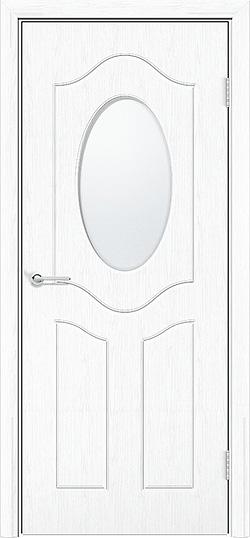 Межкомнатная дверь ПВХ Ренессанс белая патина 3