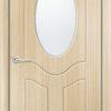 Межкомнатная дверь ПВХ Богемия белая патина 1