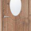 Межкомнатная дверь ПВХ Неаполь темный орех 1