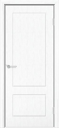 Межкомнатная дверь ПВХ Ромарио 2 белая патина 3