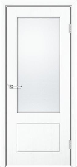 Межкомнатная дверь ПВХ Ромарио 2 белый 3