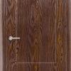 Межкомнатная дверь ПВХ Элегия светлый орех 2