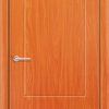 Межкомнатная дверь ПВХ Ладья темный орех 1