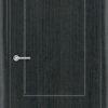 Межкомнатная дверь ПВХ Ромарио 2 венге патина 1