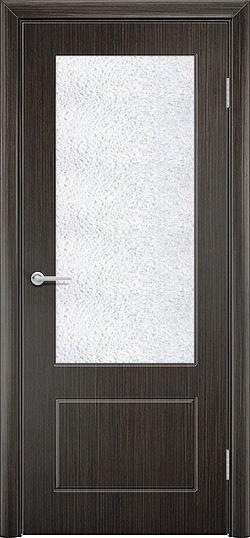 Межкомнатная дверь шпон Ромарио 2 венге 3
