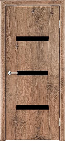 Межкомнатная дверь ПВХ Стиль светлый орех 3