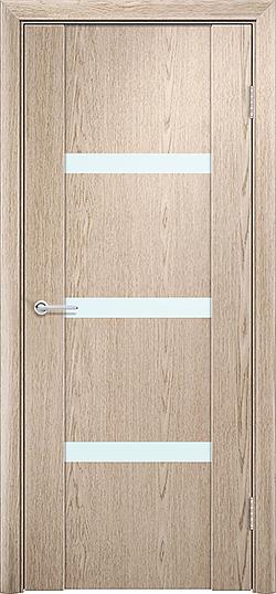 Межкомнатная дверь ПВХ Стиль 2 белёный дуб 1