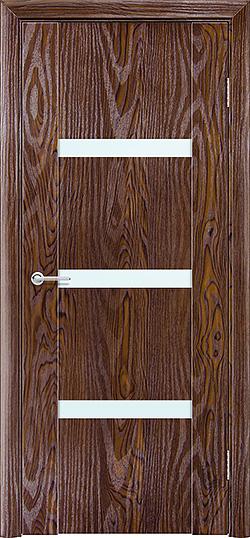 Межкомнатная дверь ПВХ Стиль 2 дуб шоколадный 3