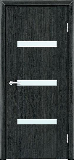 Межкомнатная дверь ПВХ Стиль 2 венге патина 3
