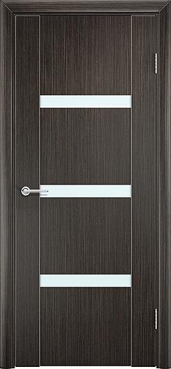 Межкомнатная дверь ПВХ Стиль 2 венге 3