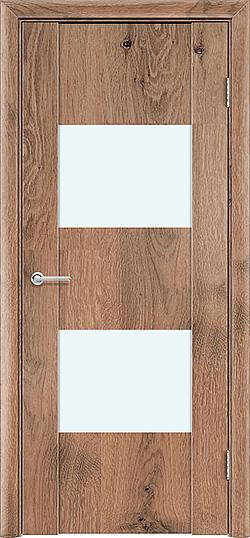 Межкомнатная дверь ПВХ Стиль 3 светлый орех 3