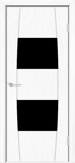 Межкомнатная дверь ПВХ Стиль 4 белая патина 3