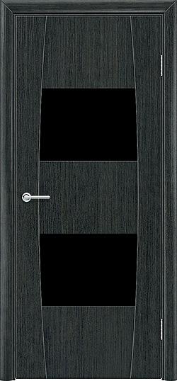 Межкомнатная дверь ПВХ Стиль 4 венге патина 1