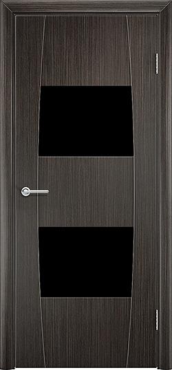 Межкомнатная дверь ПВХ Стиль 4 венге 3