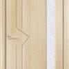 Межкомнатная дверь ПВХ Веста 3 дуб шоколадный 2