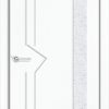 Межкомнатная дверь ПВХ Стиль 3 светлый орех 1