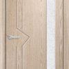 Межкомнатная дверь ПВХ Флора груша 1