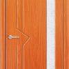 Межкомнатная дверь ПВХ Веста светлый орех 1