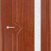 Межкомнатная дверь ПВХ Богемия светлый орех 1