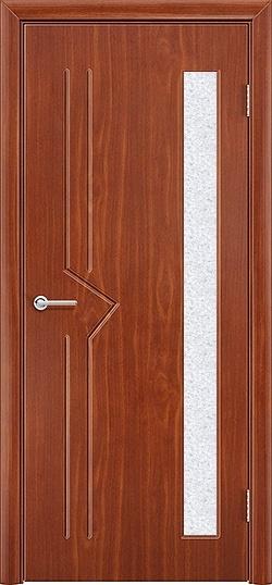 Межкомнатная дверь ПВХ Стрела итальянский орех 3