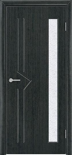 Межкомнатная дверь ПВХ Стрела венге патина 3